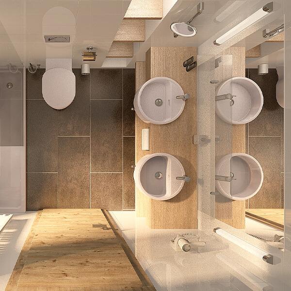 Hotelzimmereinrichtung Bäder Galeriebild