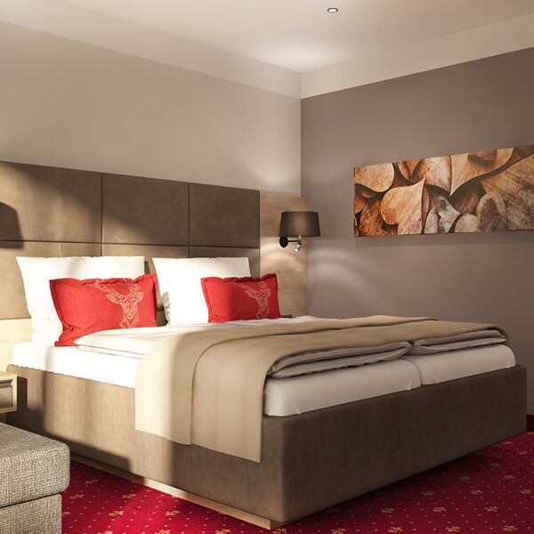 Hotelzimmereinrichtung Landhausstil Galeriebild